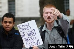 Сторонники Brexit в Лондоне