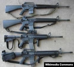 Американська гвинтівка M16.