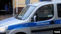 Полицейский автомобиль, иллюстративное фото