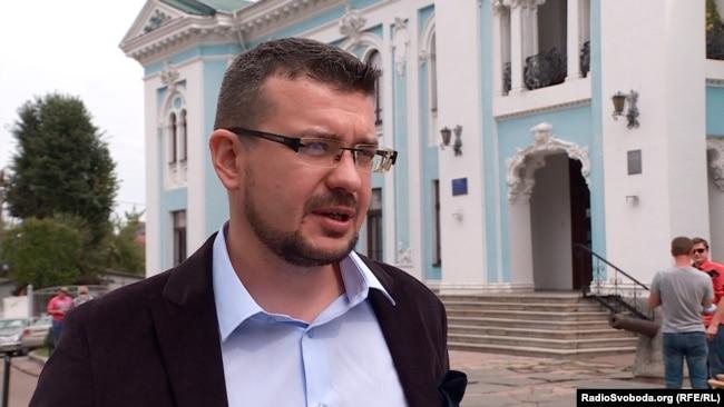 Науковий співробітник Інституту історії НАН України Олександр Алфьоров