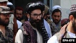 انس حقانی، یک مقام ارشد ادارۀ طالبان