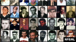 Dzenana Halimovic has so far collected over 4,000 photos of the men and boys killed in the Srebrenica genocide. (Screen grab)