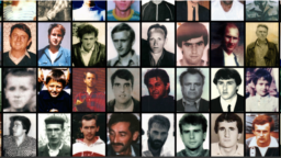 The Faces of Srebrenica so far has over 4,000 photos of the men and boys killed in the genocide. (Screen grab)