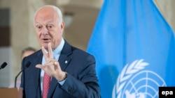 Специальный посланник генерального секретаря ООН Стаффан де Мистура
