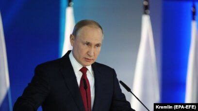 Putin Calls For Constitutional Changes More Social Spending In Annual Address