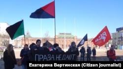 Социальный марш в Иркутске