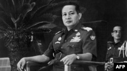 General Suharto just after his appointment as president of Indonesia in March 1967