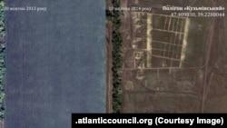 Один із полігонів у Ростовській області, поблизу із українським кордоном (atlanticcouncil.org)