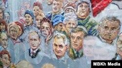 Лики святых и Путин на мозаике. Как выглядит новый храм под Москвой