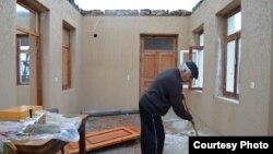 სტიქიის შედეგად დაზარალებული სახლი კახეთში