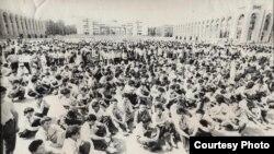 Кыргызстан демократиялык кыймылы, 1991.