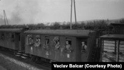 Один из эшелонов Чехословацкого корпуса, 1919 год