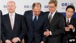 Министрите за надворешни работи на земјите членки на Г8