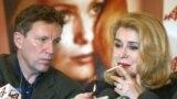 Катрин Денёв и Андрей Плахов
