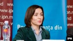 Maia Sandu, lidera și candidata PAS