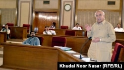 د بلوچستان صوبې اعلا وزیر ډاکتر عبدالمالک بلوڅ