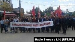 Protesta e sotme në Deçan, 26 maj 2016