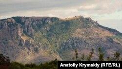 Вид на гору Демерджи