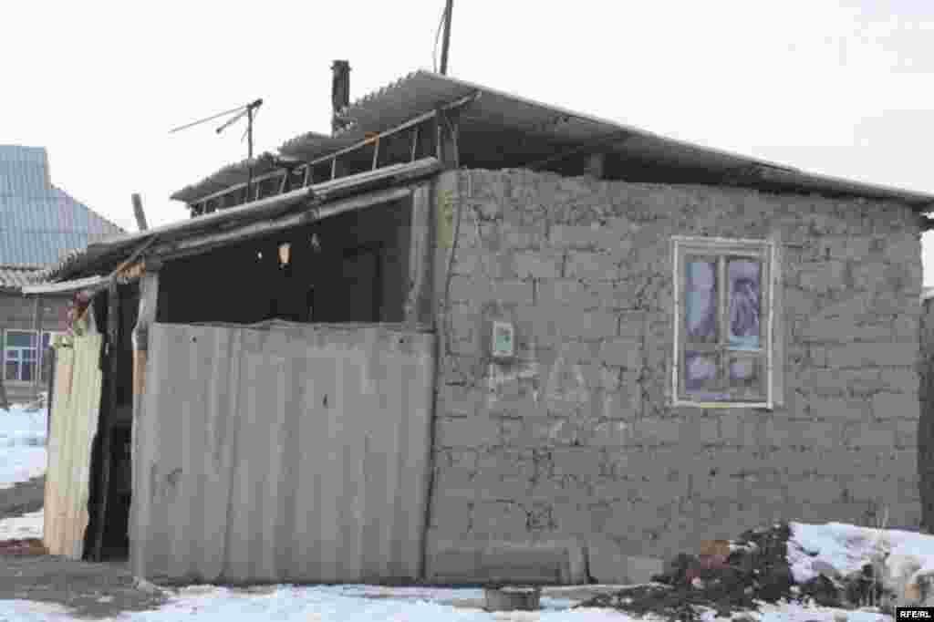 Бишкекские новостройки зимой #16
