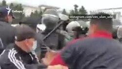 Стихийный протест из-за выборов в Улан-Удэ