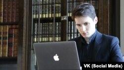 «ВКонтакте» желісінің негізін қалаған Павел Дуров.