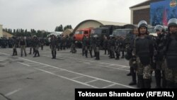 Kyrgyzstan -- Kyrgyz Army - National Guard exercises - soldiers, 20 July 2015