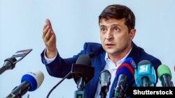 Володимир Зелнски