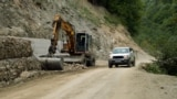Kosovo: Construction of a road near the Decan Monastery