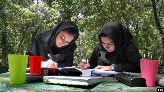 "One women's rights activist says the new official figures suggest that efforts by Iran ""to eliminate women from universities"" have been successful."
