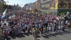 Кульмінація Дня Незалежності України – 50 тисяч на Майдані (відео)