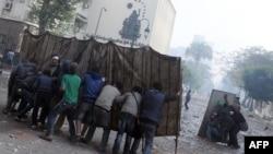 Демонстранти во Каиро.