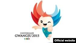 Логотип летней Универсиады в Кванджу (Южная Корея).