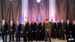 Участники сочинского заседания ОДКБ, 23 сентября 2013 г․