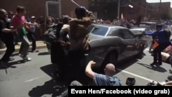Pamje pas sulmit vdekjeprurës me makinë në Nju Jork