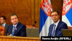 Ivica Dačuć i Aleksandar Vučić