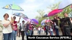 Акции в поддержку особенных детей становятся в Осетии хорошей традицией