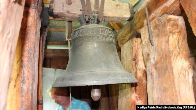 Дзвін Михайлівського собору досі діє, старший за саму церкву на сто років