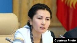Депутат парламента Кыргызстана и бывший генеральный прокурор страны Аида Салянова.