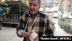 Раҳматилло Зоиров. Рӯзи 14-уми ноябри соли 2017. Шаҳри Душанбе