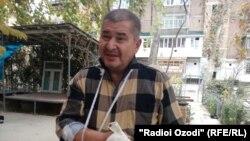 Tajik opposition leader Rahmatillo Zoirov