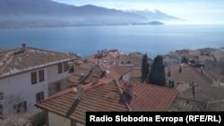 Охрид, поглед.