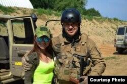Элина с мужем