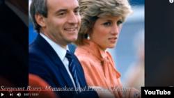Şahzadə Diana və onun cangüdəni Barry Mannakee