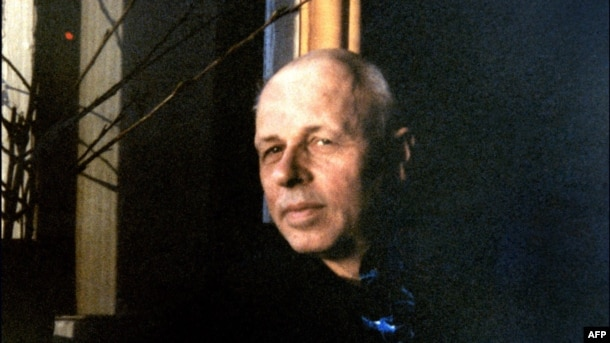 Andrei Sakharov during his exile in Gorky, now Nizhny Novgorod, in 1980