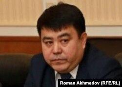 Руководитель Казахстанского фонда гарантирования депозитов Бакыт Когулов. Алматы, 6 января 2017 года.