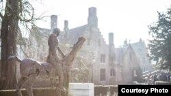 Четвертый всадник Апокалипсиса, скульптура, Брюгге