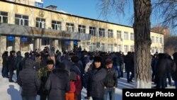 Ղազախստան - Բողոքի ցույցը Կարագանդայում, 6-ը հունվարի, 2019թ․