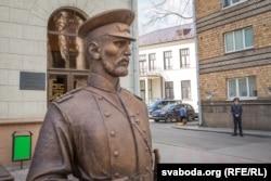 Скульптура гарадавога ў Менску