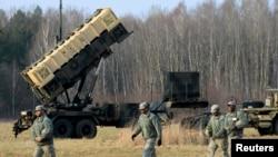 """АКШнын ракетадан коргонуу боюнча """"Patriot"""" жабдуус. Польшадагы машыгуу, 21-март, 2015-жыл."""