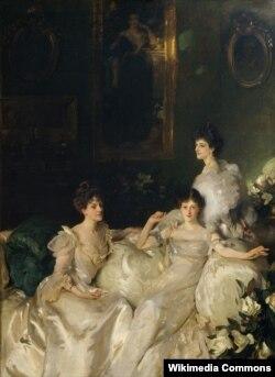 """Джон Сінгер Сарджэнт, """"Сёстры Ўіндэм"""" (1899)"""